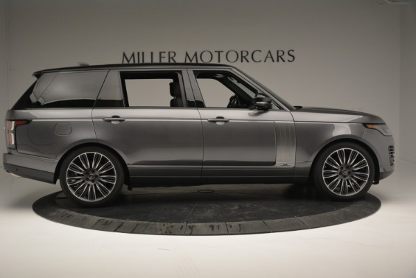 Used 2018 Land Rover Range Rover Supercharged LWB for sale Sold at Pagani of Greenwich in Greenwich CT 06830 9