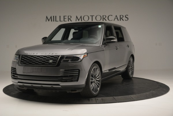 Used 2018 Land Rover Range Rover Supercharged LWB for sale Sold at Pagani of Greenwich in Greenwich CT 06830 1