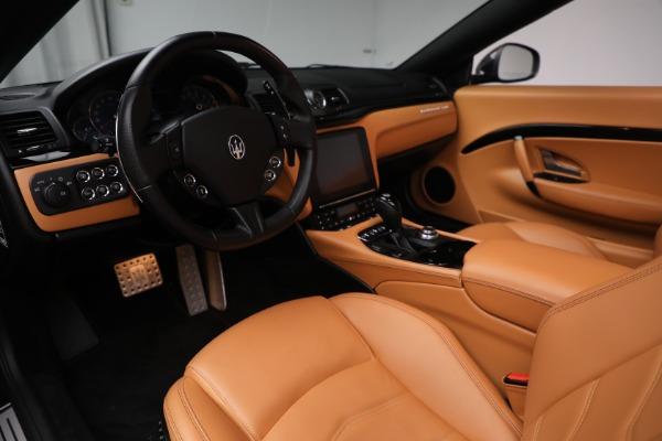 Used 2018 Maserati GranTurismo Sport for sale Call for price at Pagani of Greenwich in Greenwich CT 06830 20