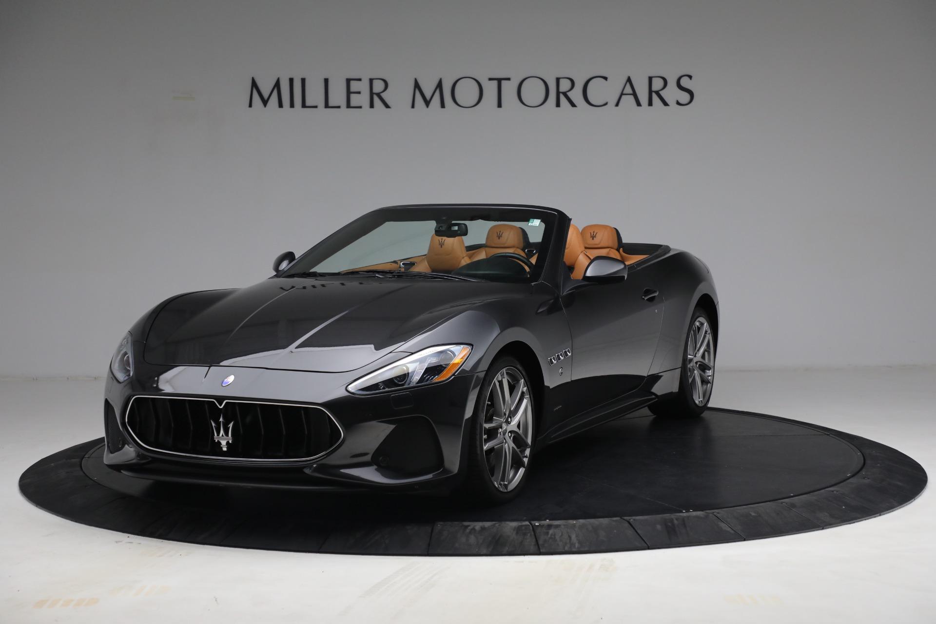 Used 2018 Maserati GranTurismo Sport for sale Call for price at Pagani of Greenwich in Greenwich CT 06830 1