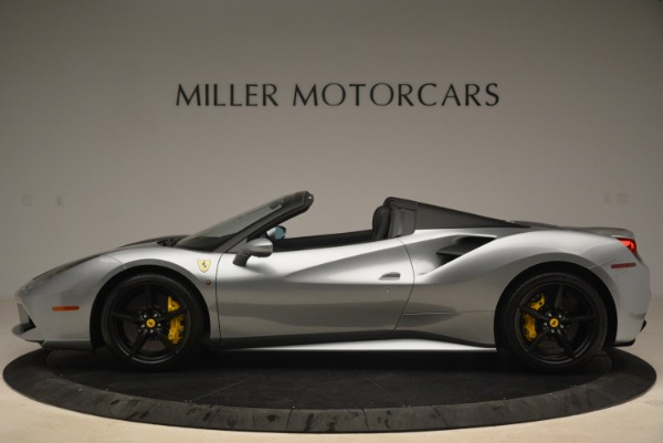 Used 2018 Ferrari 488 Spider for sale $269,900 at Pagani of Greenwich in Greenwich CT 06830 3