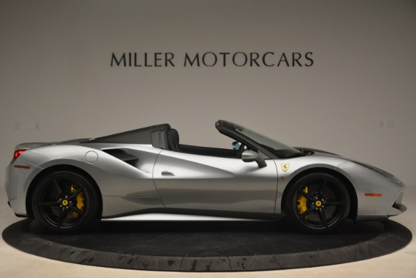 Used 2018 Ferrari 488 Spider for sale Sold at Pagani of Greenwich in Greenwich CT 06830 9