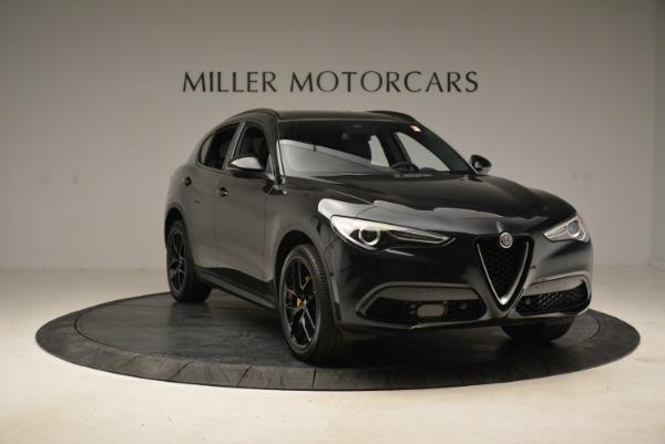 New 2018 Alfa Romeo Stelvio Ti Sport Q4 for sale Sold at Pagani of Greenwich in Greenwich CT 06830 11