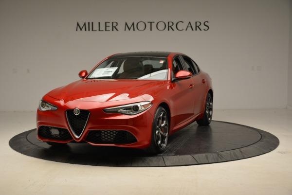 New 2018 Alfa Romeo Giulia Ti Sport Q4 for sale Sold at Pagani of Greenwich in Greenwich CT 06830 1