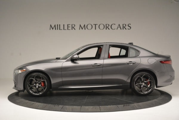New 2018 Alfa Romeo Giulia Ti Sport Q4 for sale Sold at Pagani of Greenwich in Greenwich CT 06830 3