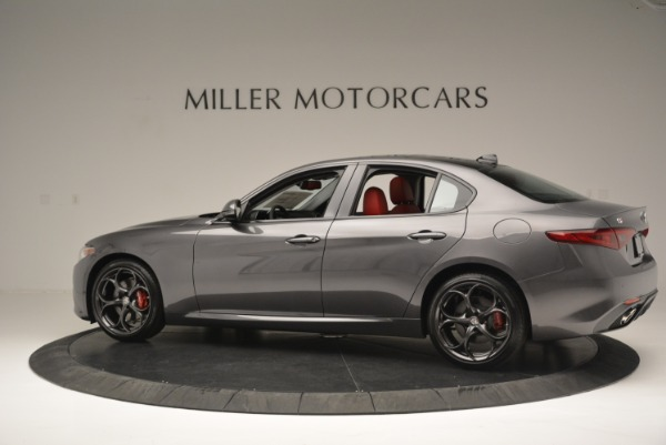 New 2018 Alfa Romeo Giulia Ti Sport Q4 for sale Sold at Pagani of Greenwich in Greenwich CT 06830 4