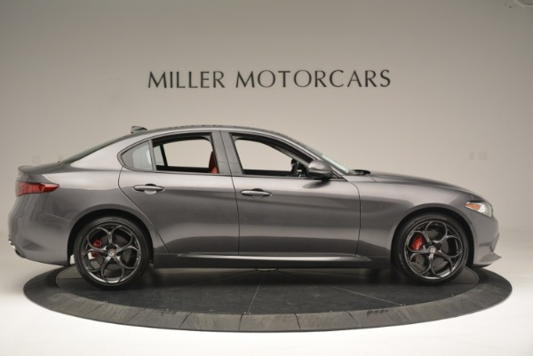 New 2018 Alfa Romeo Giulia Ti Sport Q4 for sale Sold at Pagani of Greenwich in Greenwich CT 06830 9