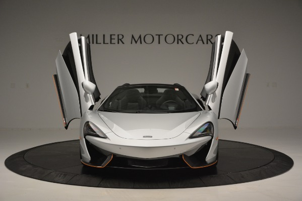 Used 2018 McLaren 570S Spider for sale Sold at Pagani of Greenwich in Greenwich CT 06830 13