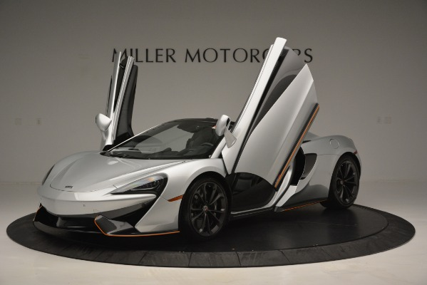 Used 2018 McLaren 570S Spider for sale Sold at Pagani of Greenwich in Greenwich CT 06830 14