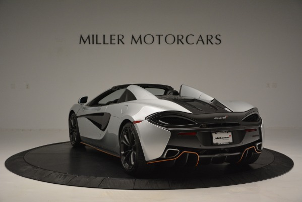 Used 2018 McLaren 570S Spider for sale Sold at Pagani of Greenwich in Greenwich CT 06830 5