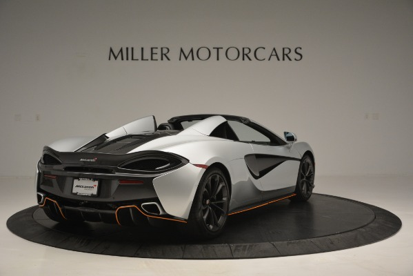 Used 2018 McLaren 570S Spider for sale Sold at Pagani of Greenwich in Greenwich CT 06830 7