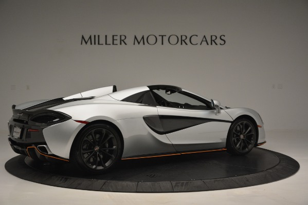Used 2018 McLaren 570S Spider for sale Sold at Pagani of Greenwich in Greenwich CT 06830 8