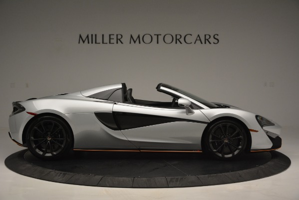 Used 2018 McLaren 570S Spider for sale Sold at Pagani of Greenwich in Greenwich CT 06830 9