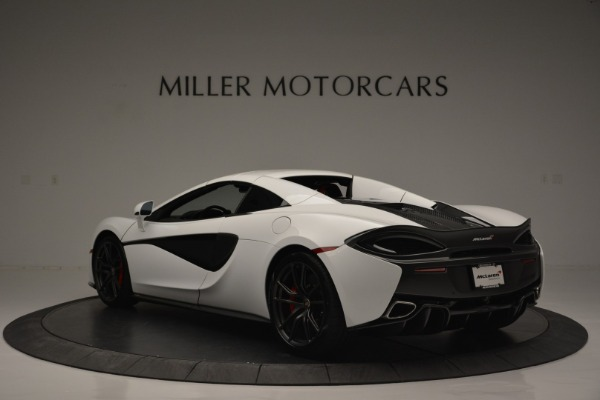 Used 2018 McLaren 570S Spider for sale Sold at Pagani of Greenwich in Greenwich CT 06830 16