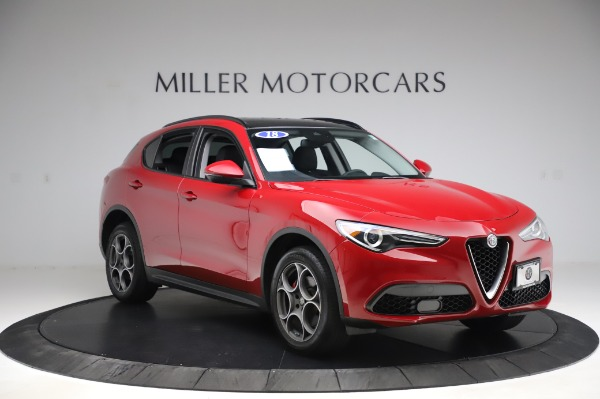 Used 2018 Alfa Romeo Stelvio Sport Q4 for sale Sold at Pagani of Greenwich in Greenwich CT 06830 11