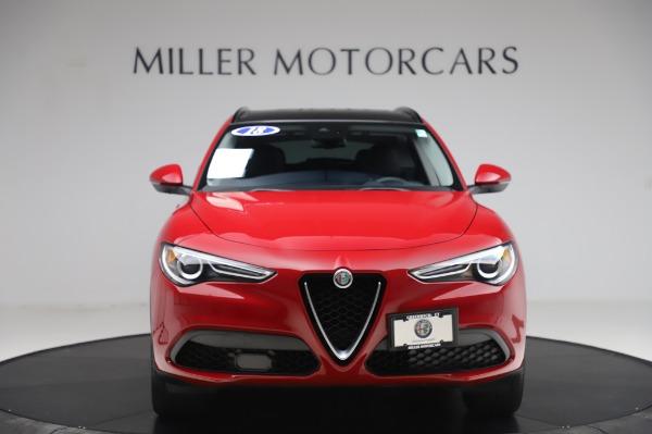 Used 2018 Alfa Romeo Stelvio Sport Q4 for sale Sold at Pagani of Greenwich in Greenwich CT 06830 12