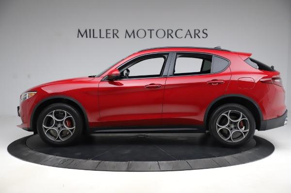 Used 2018 Alfa Romeo Stelvio Sport Q4 for sale Sold at Pagani of Greenwich in Greenwich CT 06830 3