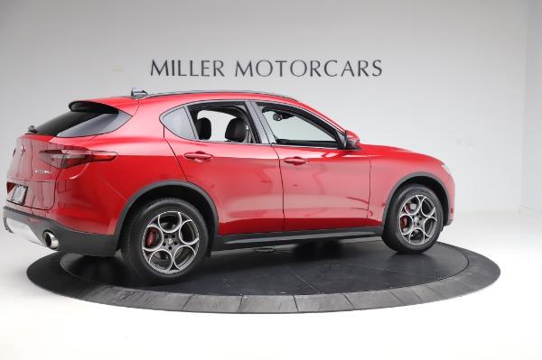 Used 2018 Alfa Romeo Stelvio Sport Q4 for sale Sold at Pagani of Greenwich in Greenwich CT 06830 8