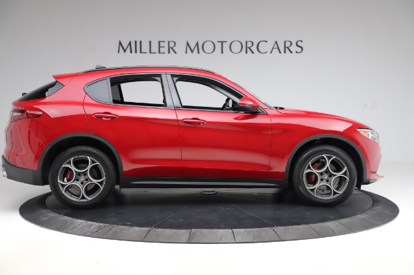 Used 2018 Alfa Romeo Stelvio Sport Q4 for sale Sold at Pagani of Greenwich in Greenwich CT 06830 9