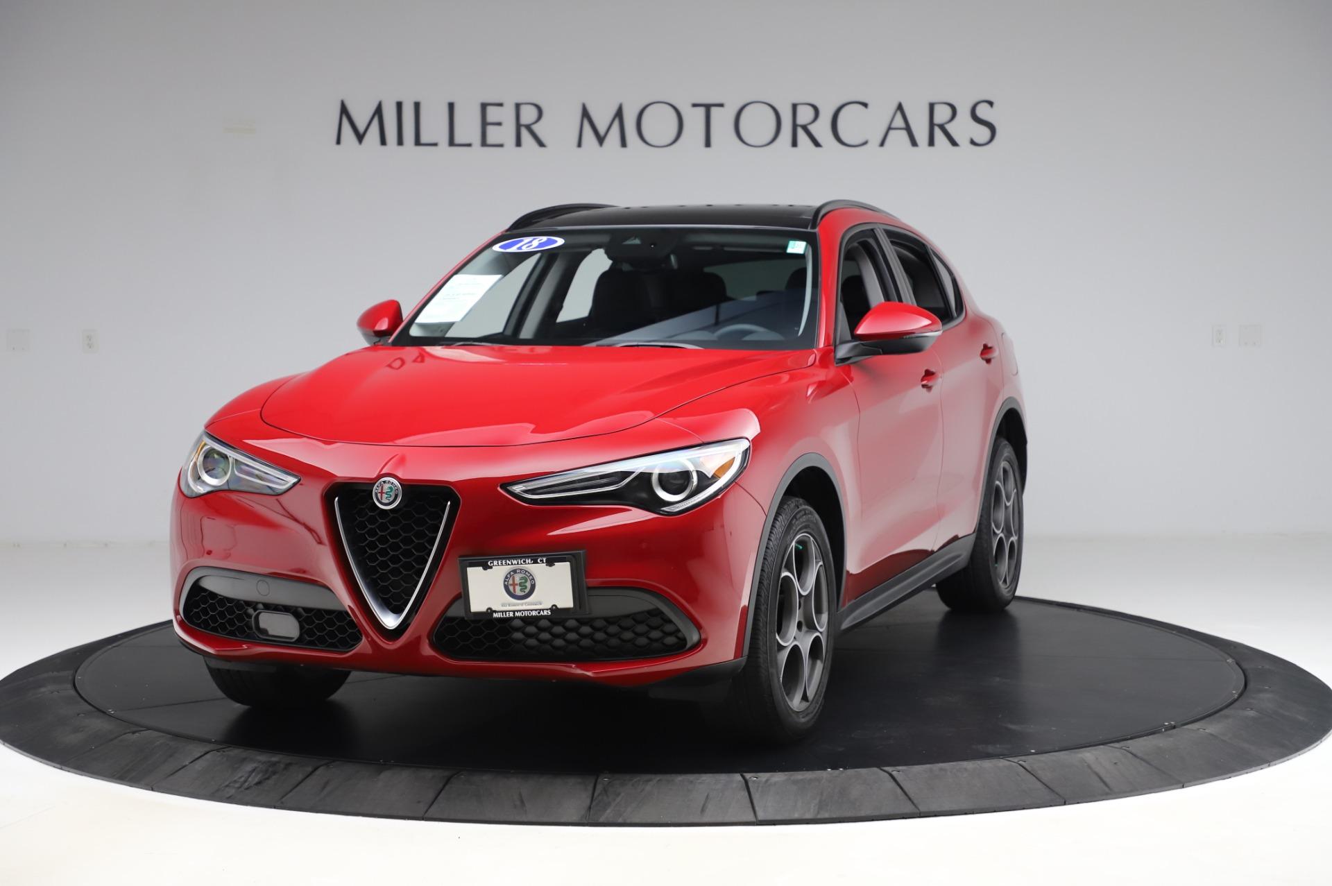 Used 2018 Alfa Romeo Stelvio Sport Q4 for sale Sold at Pagani of Greenwich in Greenwich CT 06830 1