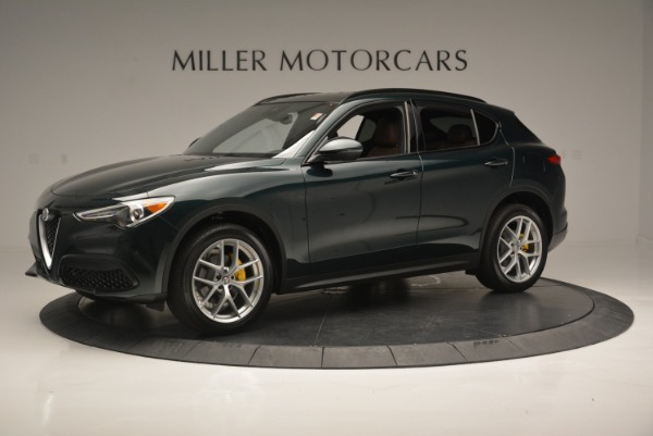 New 2018 Alfa Romeo Stelvio Ti Sport Q4 for sale Sold at Pagani of Greenwich in Greenwich CT 06830 3
