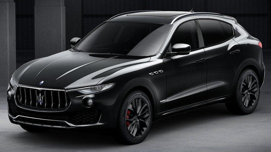 New 2018 Maserati Levante SQ4 GranSport Nerissimo for sale Sold at Pagani of Greenwich in Greenwich CT 06830 1