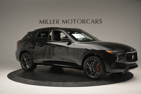 New 2018 Maserati Levante S Q4 GranSport Nerissimo for sale Sold at Pagani of Greenwich in Greenwich CT 06830 10