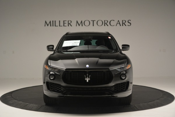 New 2018 Maserati Levante S Q4 GranSport Nerissimo for sale Sold at Pagani of Greenwich in Greenwich CT 06830 12
