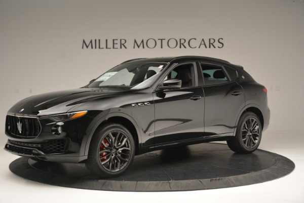 New 2018 Maserati Levante S Q4 GranSport Nerissimo for sale Sold at Pagani of Greenwich in Greenwich CT 06830 2