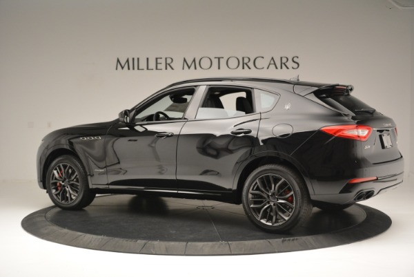 New 2018 Maserati Levante S Q4 GranSport Nerissimo for sale Sold at Pagani of Greenwich in Greenwich CT 06830 4