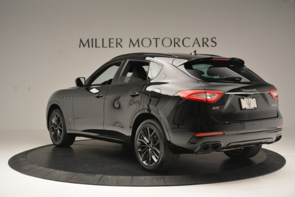 New 2018 Maserati Levante S Q4 GranSport Nerissimo for sale Sold at Pagani of Greenwich in Greenwich CT 06830 5