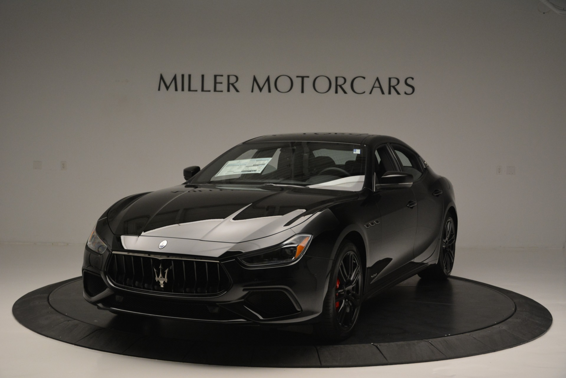 New 2018 Maserati Ghibli SQ4 GranSport Nerissimo for sale Sold at Pagani of Greenwich in Greenwich CT 06830 1