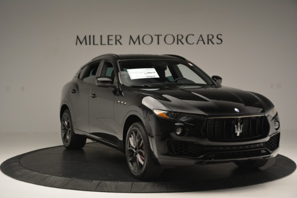 New 2018 Maserati Levante S Q4 GranSport Nerissimo for sale Sold at Pagani of Greenwich in Greenwich CT 06830 11