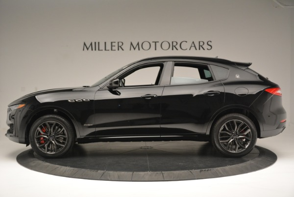New 2018 Maserati Levante S Q4 GranSport Nerissimo for sale Sold at Pagani of Greenwich in Greenwich CT 06830 3