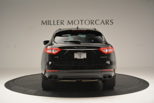 New 2018 Maserati Levante S Q4 GranSport Nerissimo for sale Sold at Pagani of Greenwich in Greenwich CT 06830 6