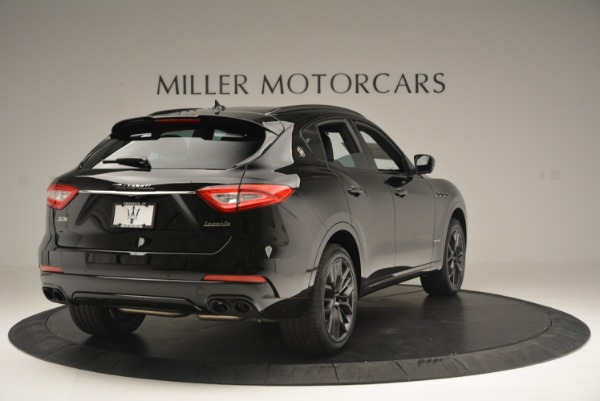 New 2018 Maserati Levante S Q4 GranSport Nerissimo for sale Sold at Pagani of Greenwich in Greenwich CT 06830 7