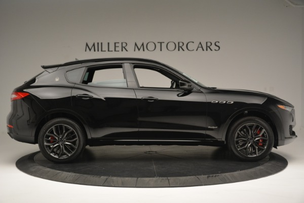 New 2018 Maserati Levante S Q4 GranSport Nerissimo for sale Sold at Pagani of Greenwich in Greenwich CT 06830 9