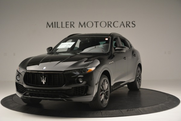 New 2018 Maserati Levante S Q4 GranSport Nerissimo for sale Sold at Pagani of Greenwich in Greenwich CT 06830 1