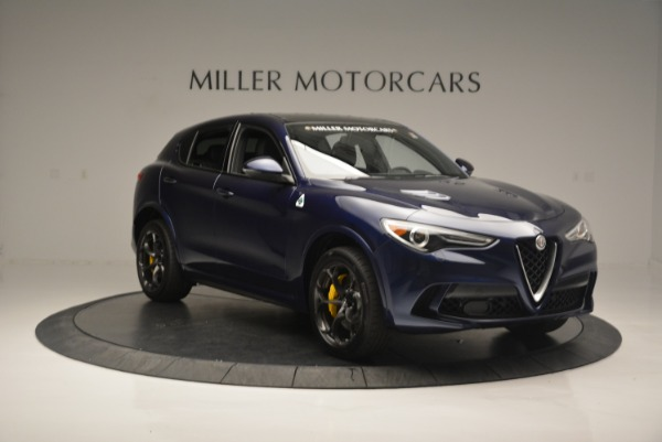 New 2018 Alfa Romeo Stelvio Quadrifoglio for sale Sold at Pagani of Greenwich in Greenwich CT 06830 11