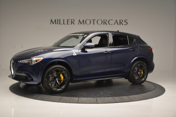 New 2018 Alfa Romeo Stelvio Quadrifoglio for sale Sold at Pagani of Greenwich in Greenwich CT 06830 2
