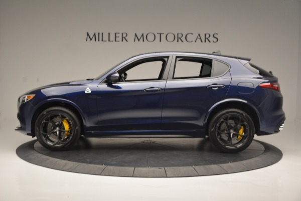 New 2018 Alfa Romeo Stelvio Quadrifoglio for sale Sold at Pagani of Greenwich in Greenwich CT 06830 3
