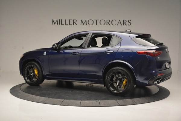 New 2018 Alfa Romeo Stelvio Quadrifoglio for sale Sold at Pagani of Greenwich in Greenwich CT 06830 4
