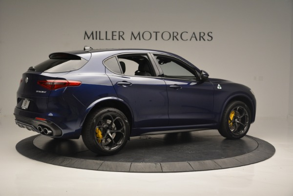 New 2018 Alfa Romeo Stelvio Quadrifoglio for sale Sold at Pagani of Greenwich in Greenwich CT 06830 8