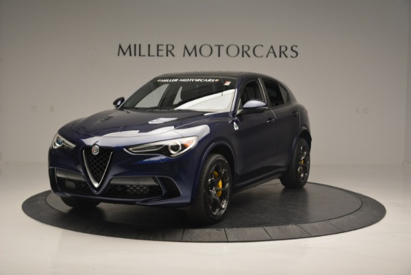 New 2018 Alfa Romeo Stelvio Quadrifoglio for sale Sold at Pagani of Greenwich in Greenwich CT 06830 1