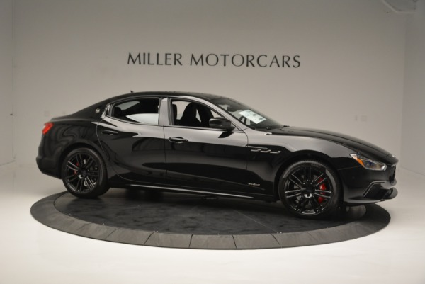 New 2018 Maserati Ghibli SQ4 GranSport Nerissimo for sale Sold at Pagani of Greenwich in Greenwich CT 06830 10