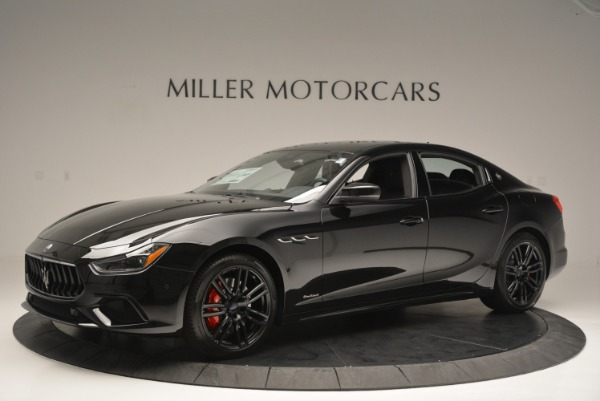 New 2018 Maserati Ghibli SQ4 GranSport Nerissimo for sale Sold at Pagani of Greenwich in Greenwich CT 06830 2