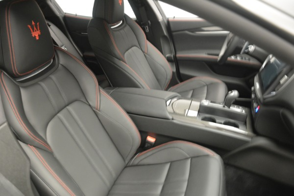 New 2018 Maserati Ghibli SQ4 GranSport Nerissimo for sale Sold at Pagani of Greenwich in Greenwich CT 06830 20