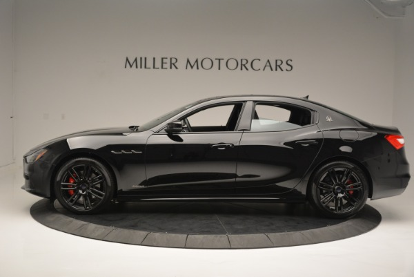 New 2018 Maserati Ghibli SQ4 GranSport Nerissimo for sale Sold at Pagani of Greenwich in Greenwich CT 06830 3