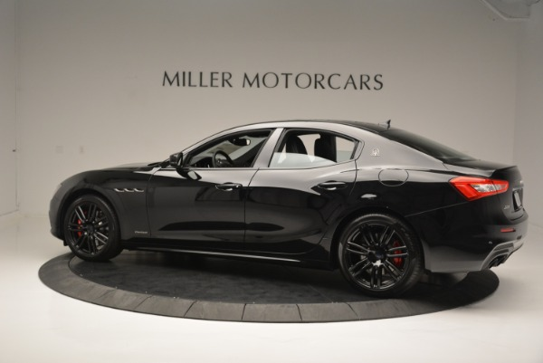 New 2018 Maserati Ghibli SQ4 GranSport Nerissimo for sale Sold at Pagani of Greenwich in Greenwich CT 06830 4