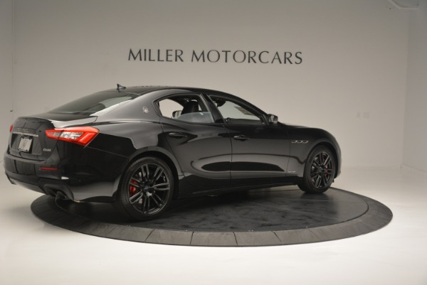 New 2018 Maserati Ghibli SQ4 GranSport Nerissimo for sale Sold at Pagani of Greenwich in Greenwich CT 06830 8